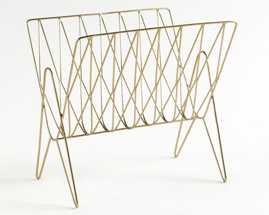 Niouz retro magazine rack at La Redoute