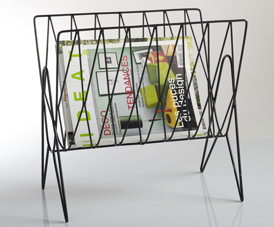 Niouz retro magazine rack at La Redoute