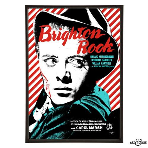 Brit Noir pop art collection by Art & Hue