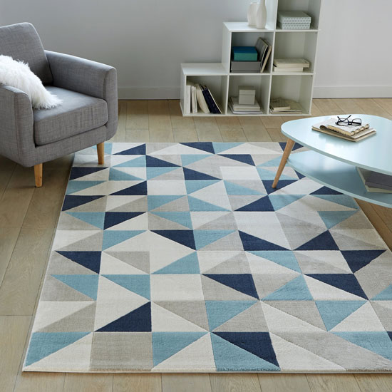 Affordable retro: Akbabu and Elga rugs at La Redoute