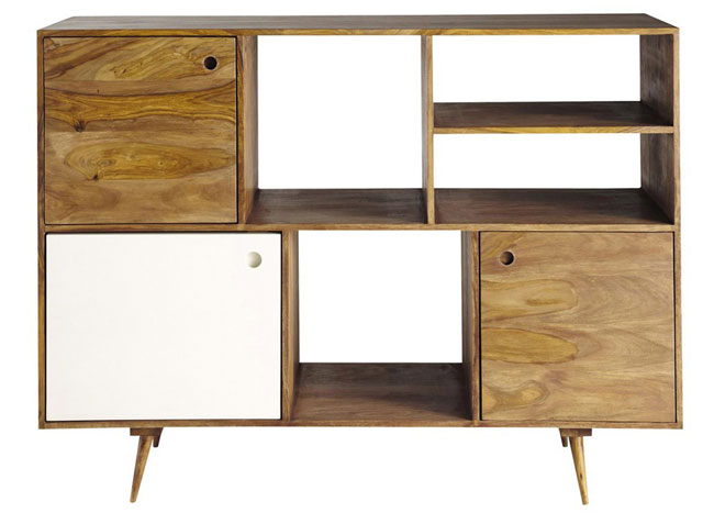 andersen midcentury style sideboard range at maisons du monde. Black Bedroom Furniture Sets. Home Design Ideas