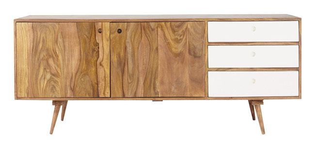 Andersen midcentury-style sideboard range at Maisons Du Monde