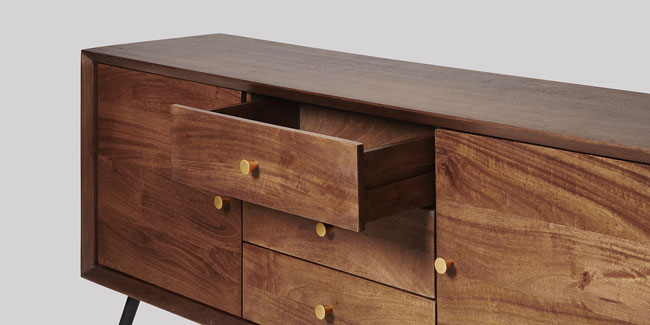 Midcentury-inspired Bowman sideboard at Swoon Editions