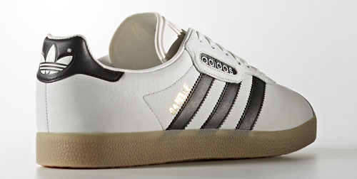 1980s Adidas Gazelle Super trainers return in white leather