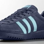 Adidas Bermuda trainers reissued in grey and blue suede