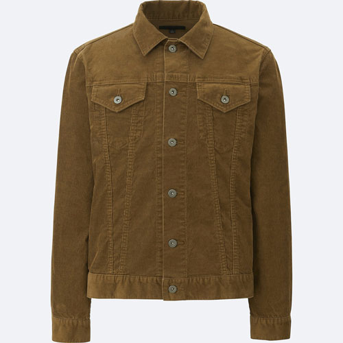 Vintage-style corduroy trucker jacket at Uniqlo