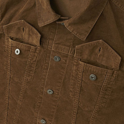 Vintage-style corduroy trucker jacket at Uniqlo
