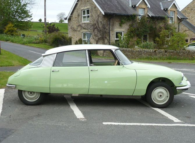 1962 Citroen DS ID19 on eBay