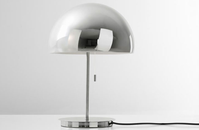 Collet retro table and floor lamps at Made