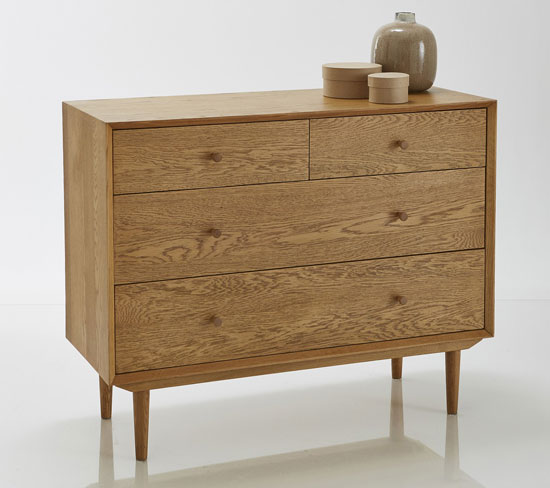 Quilda midcentury-style storage units at La Redoute