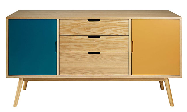 Fjord retro sideboards at Maisons Du Monde