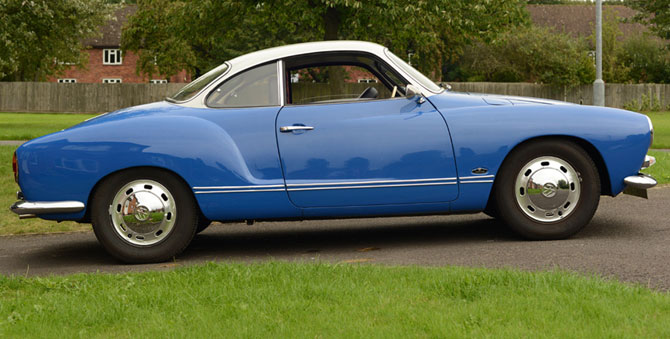 1969 Volkswagen Karmann Ghia Coupe on eBay