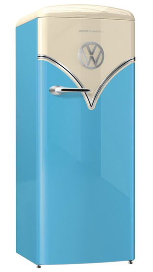Gorenje introduces the special edition VW Camper Van fridge