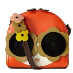 1960s-style Applique Face bag by Orla Kiely