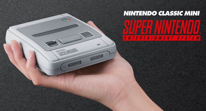Nintendo Classic Mini - the Super Nintendo returns