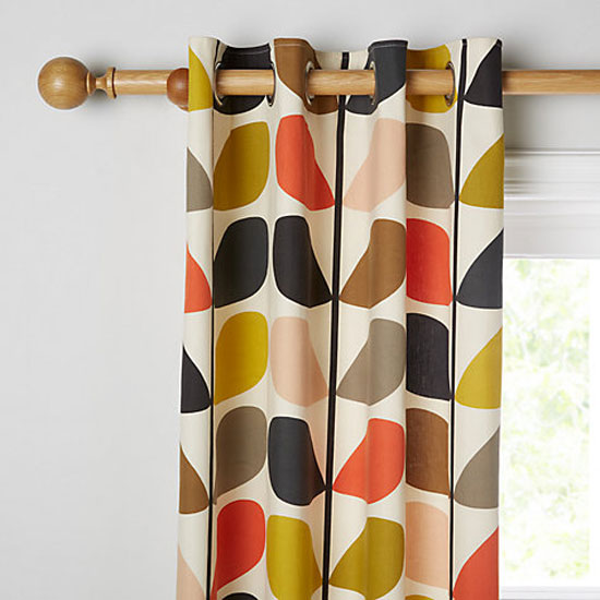 Orla Kiely Stem curtains at John Lewis