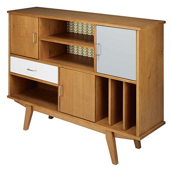 paulette vintage style bookcase at maisons du monde. Black Bedroom Furniture Sets. Home Design Ideas