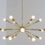 Handmade retro Sputnik light fittings by Inscapes Design