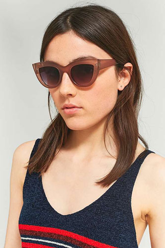 Sale watch: Perspex cat eye sunglasses at Urban Outfitters