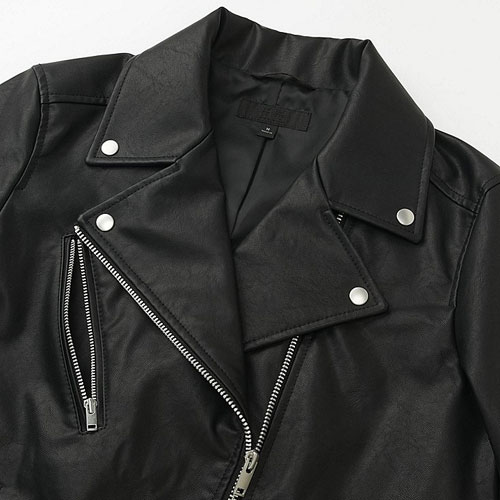 Classic biker jacket for women at Uniqlo