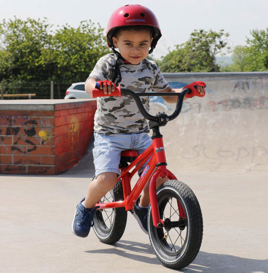 Classic BMX balance bikes for kids by Kiddimoto