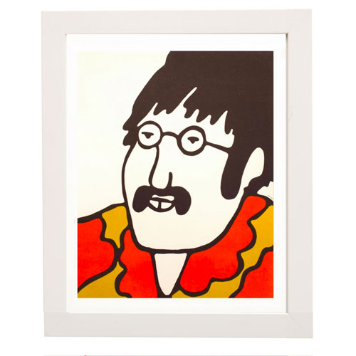 Vintage spotting: The Beatles Yellow Submarine prints at Pedlars