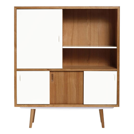 Midcentury-style Buffet Cupboard by Red Edition