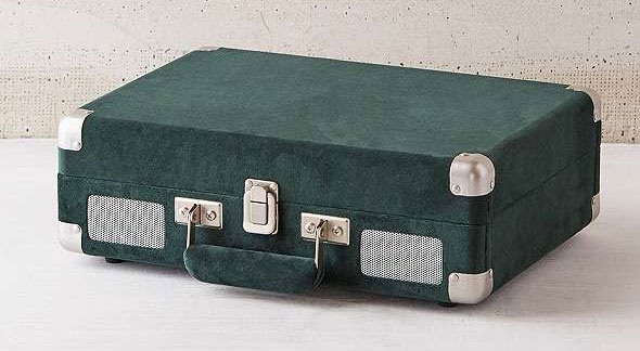 Crosley X UO Velvet Cruiser vintage-style Bluetooth record player