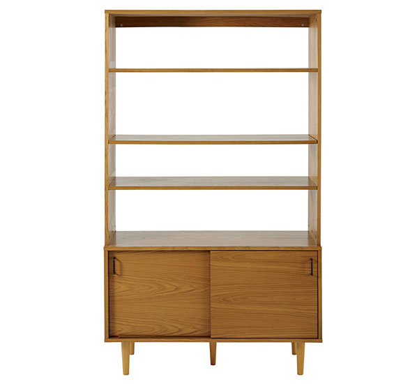 Vintage-style Dean bookcase at Maisons Du Monde