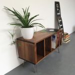 Sonor record storage unit by Derelict Design