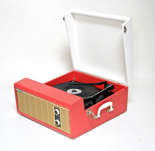 Restored 1960s Fidelity HF-35 record player on eBay