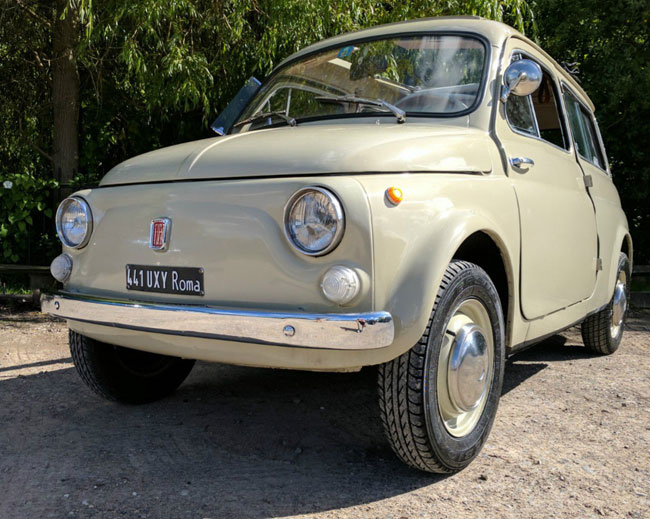 1962 Fiat 500 Giadiniera on eBay