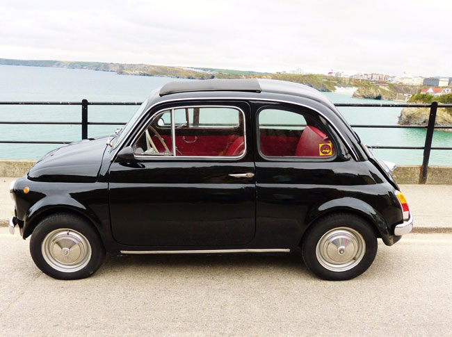 Restored 1965 Fiat 500F on eBay