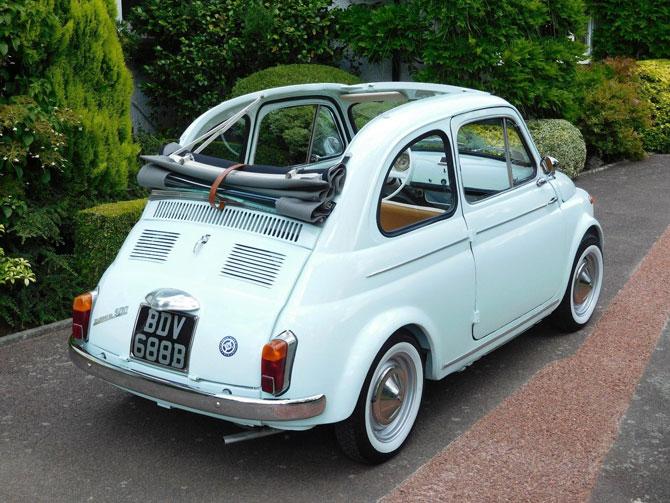 Fully restored 1964 Fiat 500D Trasformabile on eBay