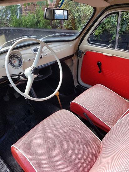 1962 Fiat 500 Giadiniera on eBay