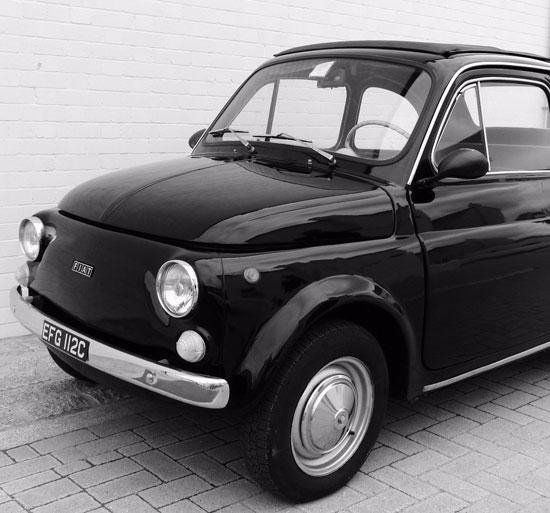 Restored 1965 Fiat 500F on eBay