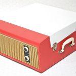 Restored 1960s Fidelity HF-35 record player on eBay