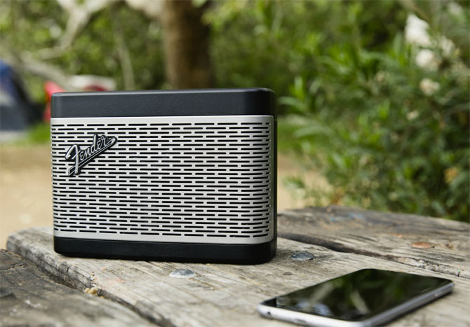 Fender unveils its amplifier-inspired Bluetooth speakers