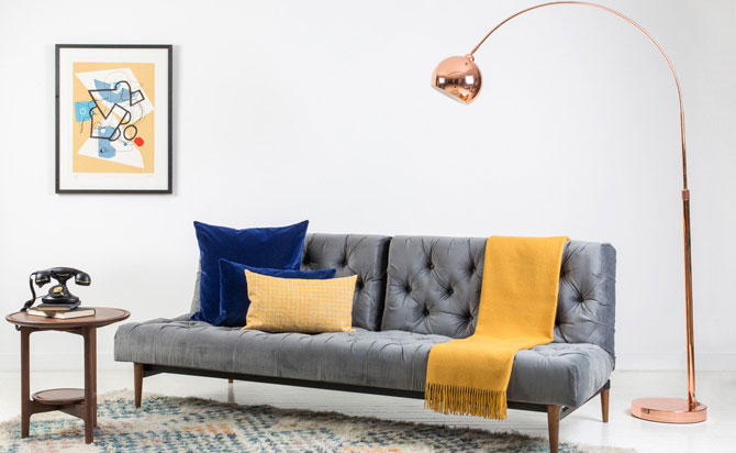 Sale watch: Retro Mini Lounge Floor Lamp discounted at Heal's