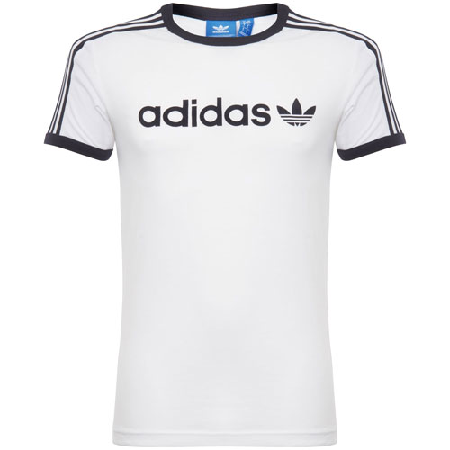 1970s-style Adidas Linear Trefoil t-shirts