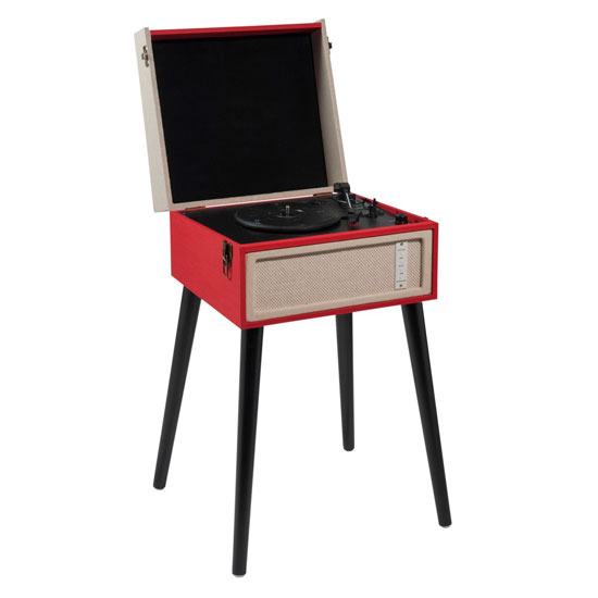 Dansette-style Manhattan USB record player at Maisons Du Monde