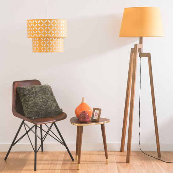 Sheffield midcentury-style side table at Maisons Du Monde