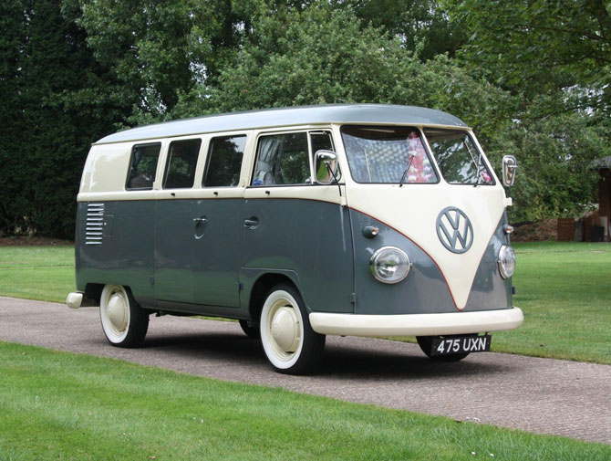 1962 Volkswagen split screen camper van on eBay