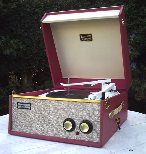 Restored 1962 Dansette Tempo Record Player On Ebay Retro