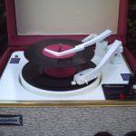 Restored 1962 Dansette Tempo record player on eBay