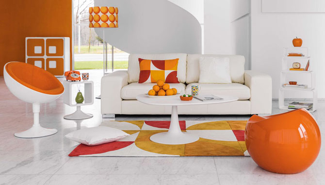 Twiggy space age side table at Maisons Du Monde
