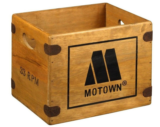 Vintage Style Wooden Record Crates On Ebay