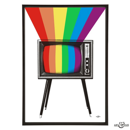 Live in Colour: Art & Hue celebrates 50 years of colour TV