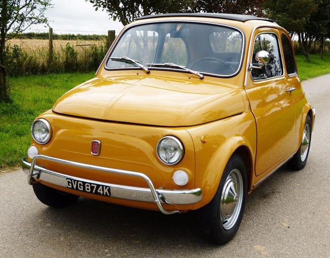 Fully restored 1972 Fiat 500L on eBay