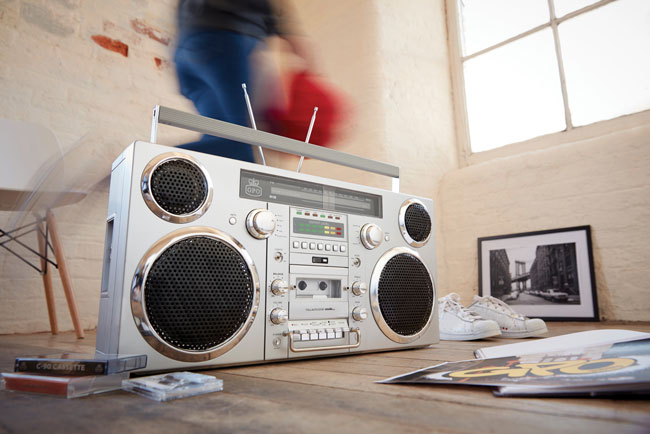 1980s revisited with the GPO Retro Brooklyn boombox